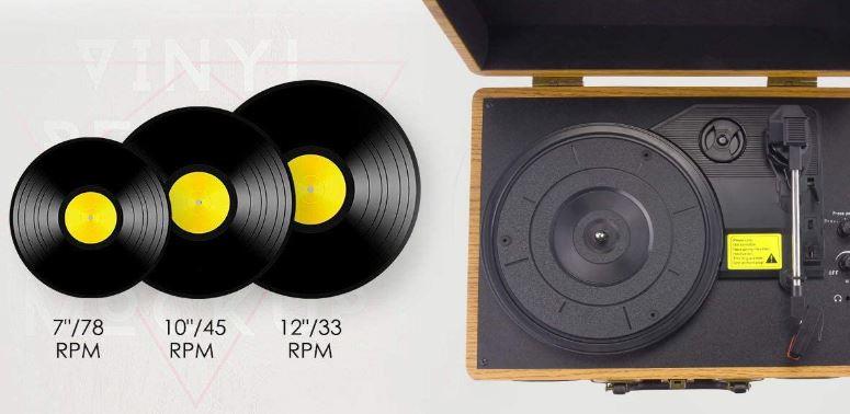 Viflykoo TT2202-WCPJ platine vinyle
